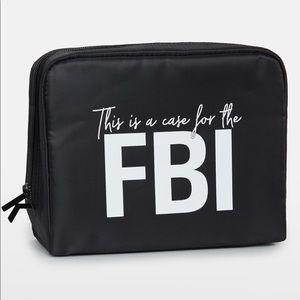FBI cosmetic bag